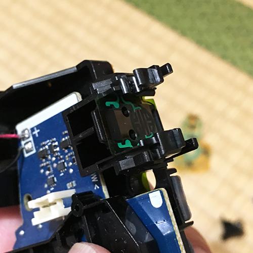PS4コントローラー分解修理 ~フィルムキーパッド~⑨