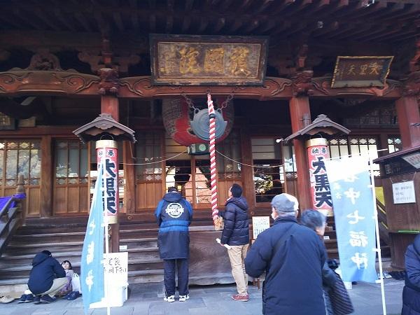 1520190109谷中七福神6上野護国院大黒天