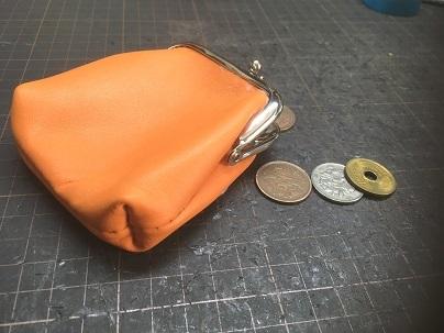 がま口(角型)財布