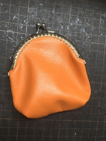 がま口(丸型)財布①