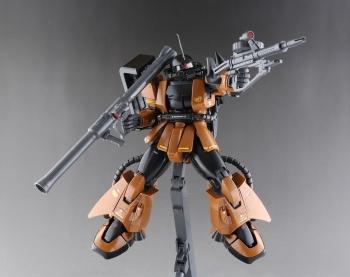 MG MS-06R-2 ギャビー・ハザード専用ザクII (3)