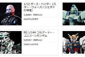 2018年12月発売のガンプラの発売日(出荷日)t (2)