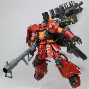 "HG 1144 高機動型ザク ""サイコ・ザク""(GUNDAM THUNDERBOLT Ver.) (3)"