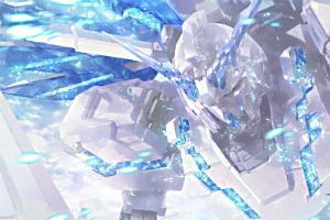 「機動戦士ガンダムUC」Blu-ray BOX」のカトキハジメ描き下ろし収納ボックスイラストt