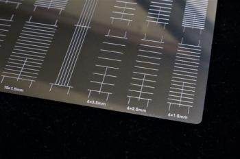 マスキングテープカットガイド プレート型 [直線] (8)