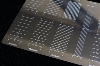 マスキングテープカットガイド プレート型 [直線] (9)