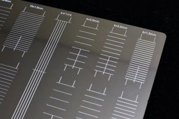 マスキングテープカットガイド プレート型 [直線] (10)