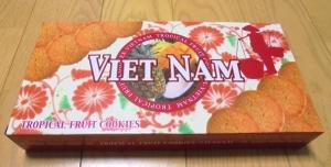 ベトナムトロピカルクッキー