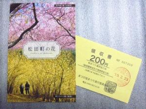 松田町桜まつり絵葉書