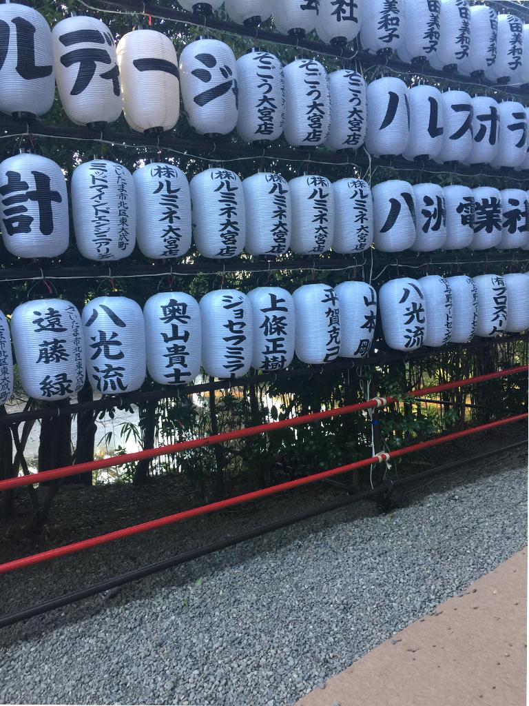 氷川神社年始参り