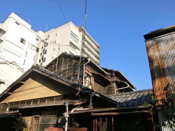横寺町、木造建築が残る昭和の路地を歩く