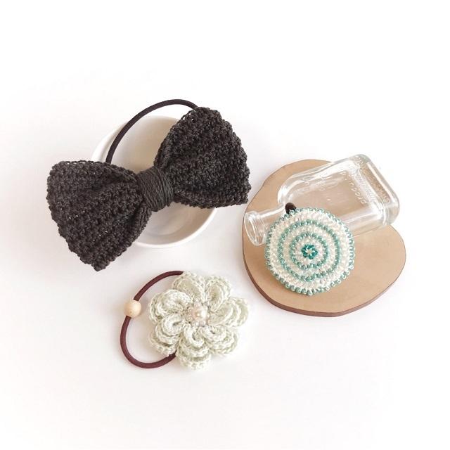 手編み雑貨 HanahanD ヘアアクセサリー セット ギフト 福袋 特価