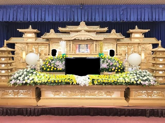 花祭壇3日