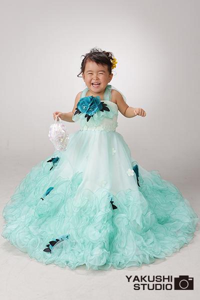 三歳 着物ドレス ゆずちゃん