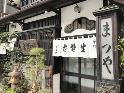 180614神田まつや玄関