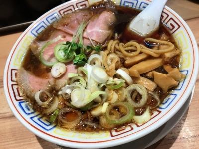 180618サバ6製麺所お初天神店サバ醤油そば700円
