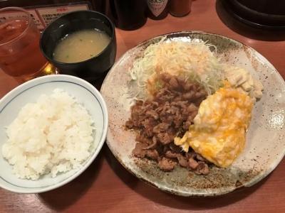 180629大阪トンテキ大阪駅前第3ビル店とんたま定食780円
