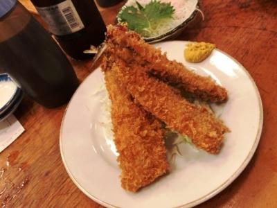 180718魚三酒場富岡店イワシフライ310円