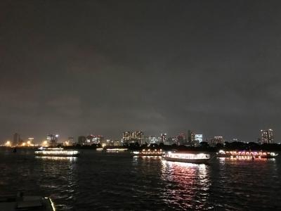 180807あみ達【貸切】VIPコース16200円行き交う屋形船