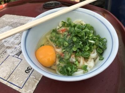 180923三嶋製麺所うどん小140円玉子30円