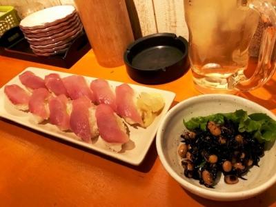 181016名前のない寿司屋ぶり1貫10円