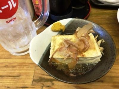 181021庶民焼き豆腐1個50円