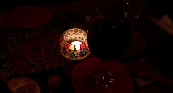 キャンドル ワイン