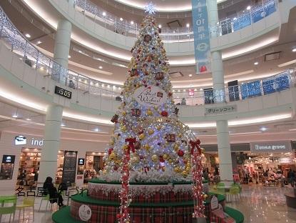 モールクリスマスツリー