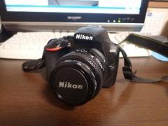 新カメラD3500