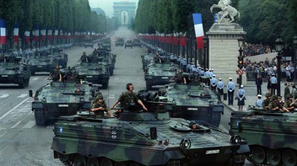 NATO軍の鉄十字戦車3
