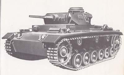 ww2時の鉄十字戦車1