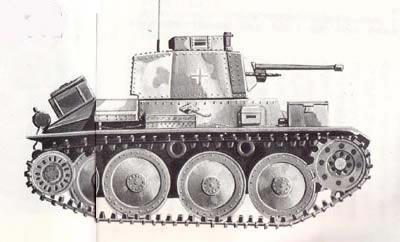 ww2時の鉄十字戦車4