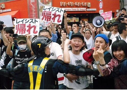 日本人に「帰れ、出ていけ」と罵倒し侮辱する朝鮮人