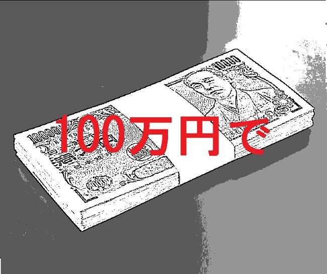 100万円で