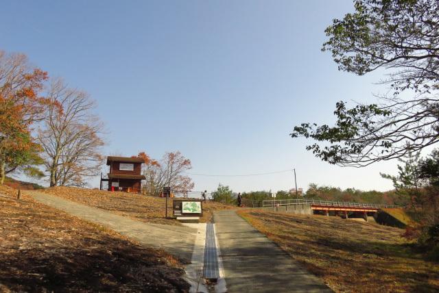 有馬富士公園の裏口
