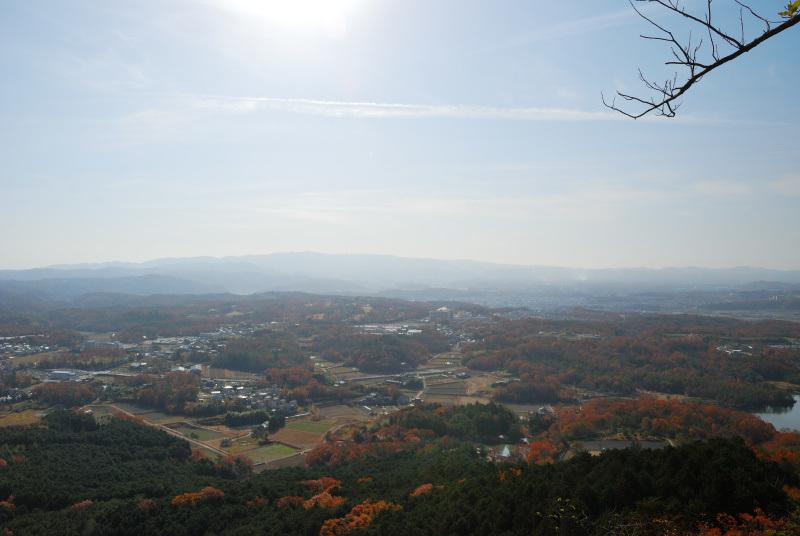 有馬富士から六甲の眺め_絶景