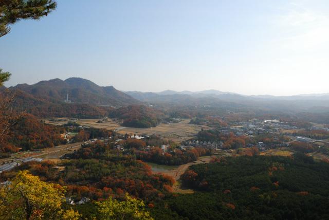 有馬富士の山頂からの眺め_羽束山
