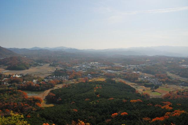 有馬富士からの眺め