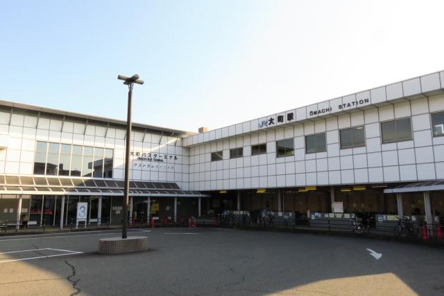 広島_大町駅の改札口
