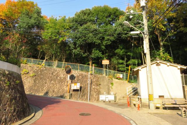 広島アルプス_大町コース登山口