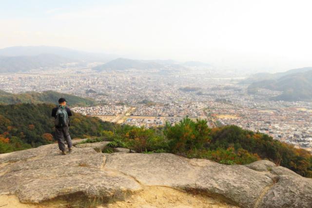 広島アルプス_登山道からの眺め