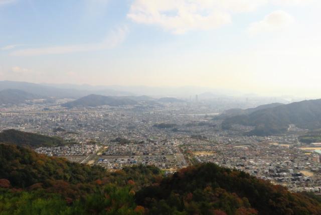 広島アルプス_登山道から安佐南区