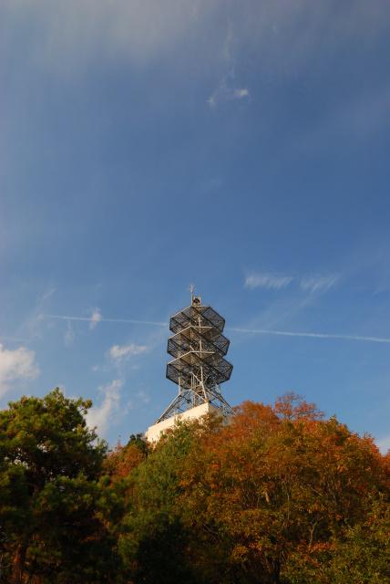 広島アルプス_大茶臼山の電波塔