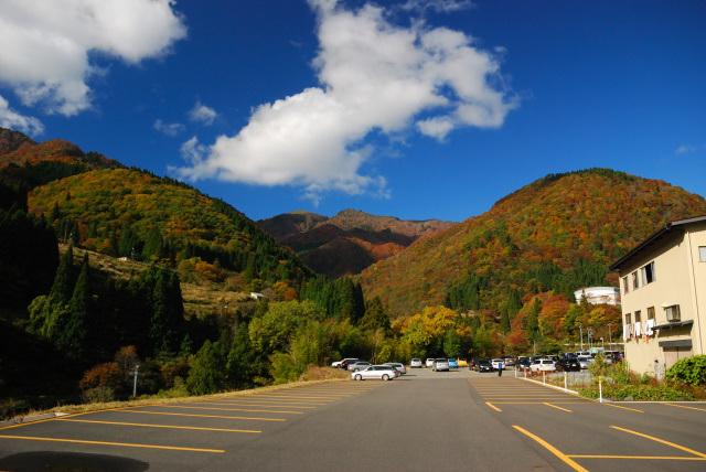 氷ノ山_鉢伏口スキー場の駐車場