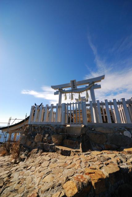 石鎚山頂神社