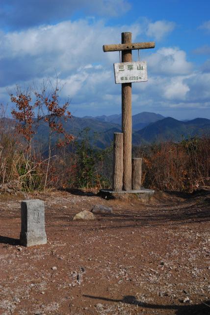 三草山_山頂から丹波方面の眺め