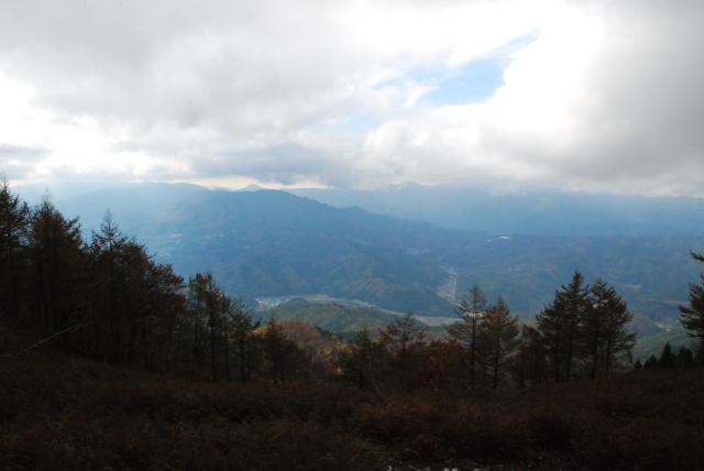 蘇武岳_山頂から氷ノ山を眺める