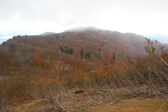 蘇武岳_山頂から妙見山