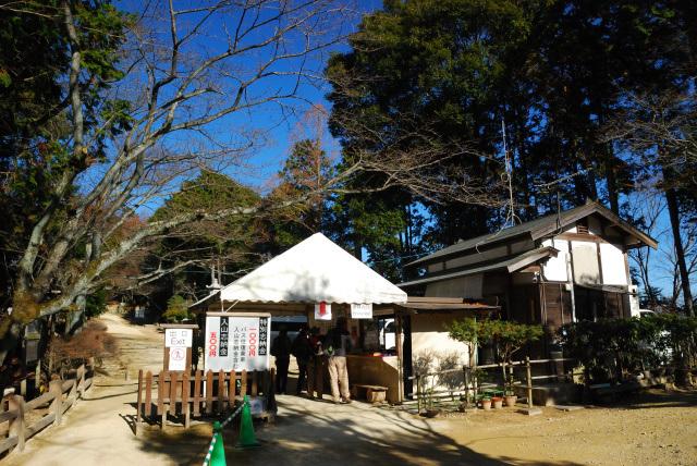 円教寺の入口_ここで入山料を払います