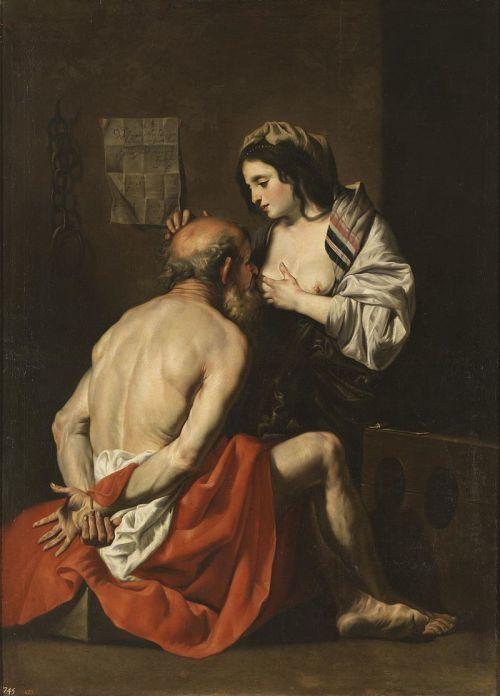 roman charity by Gaspar de Crayer s